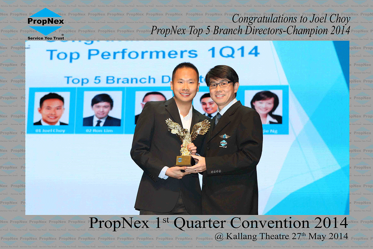 Propnex-1st-Quarter-2014--Top-Branch-Directors--Champion-Position