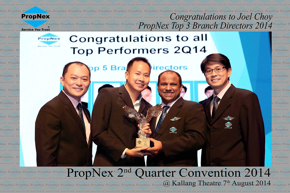 Propnex-2nd-Quarter-2014--Top-Branch-Director