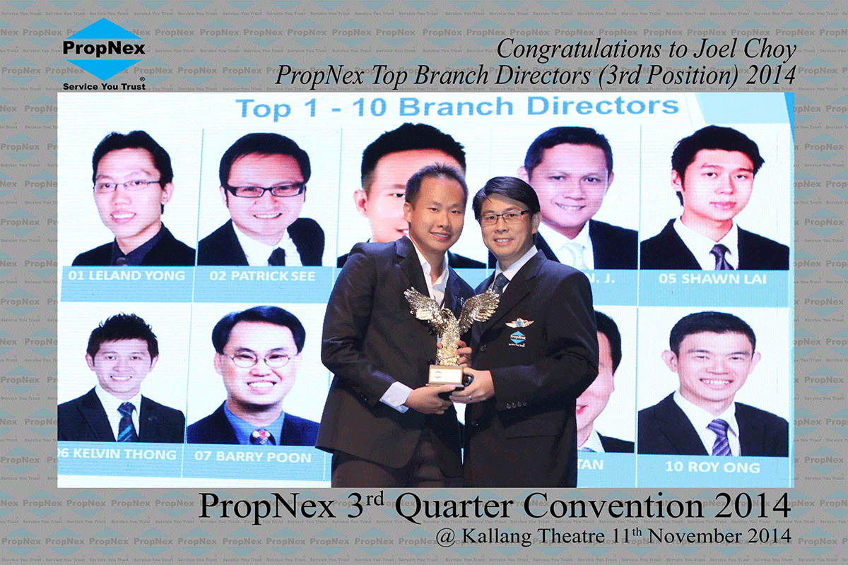 Propnex-3rd-Quarter-2014--Top-Branch-Directors