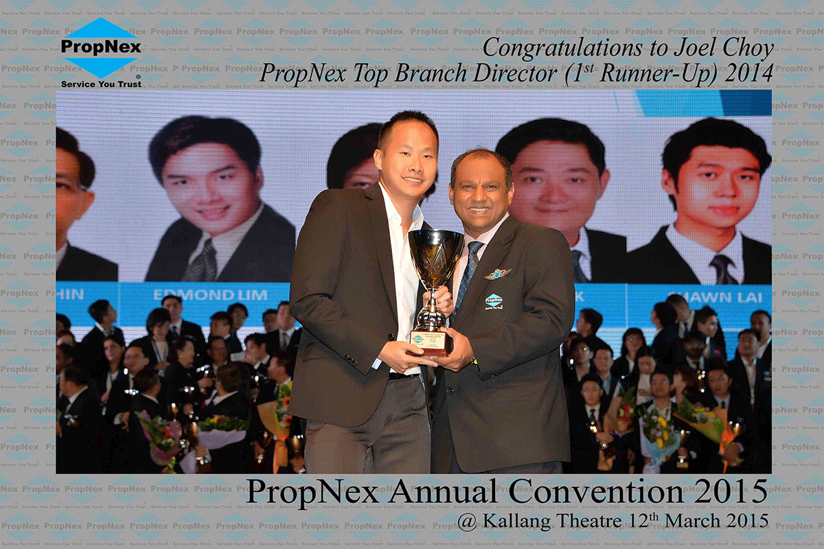 Propnex-Annual-Convention-2015--Top-Branch-Directors-1st-Runner-up