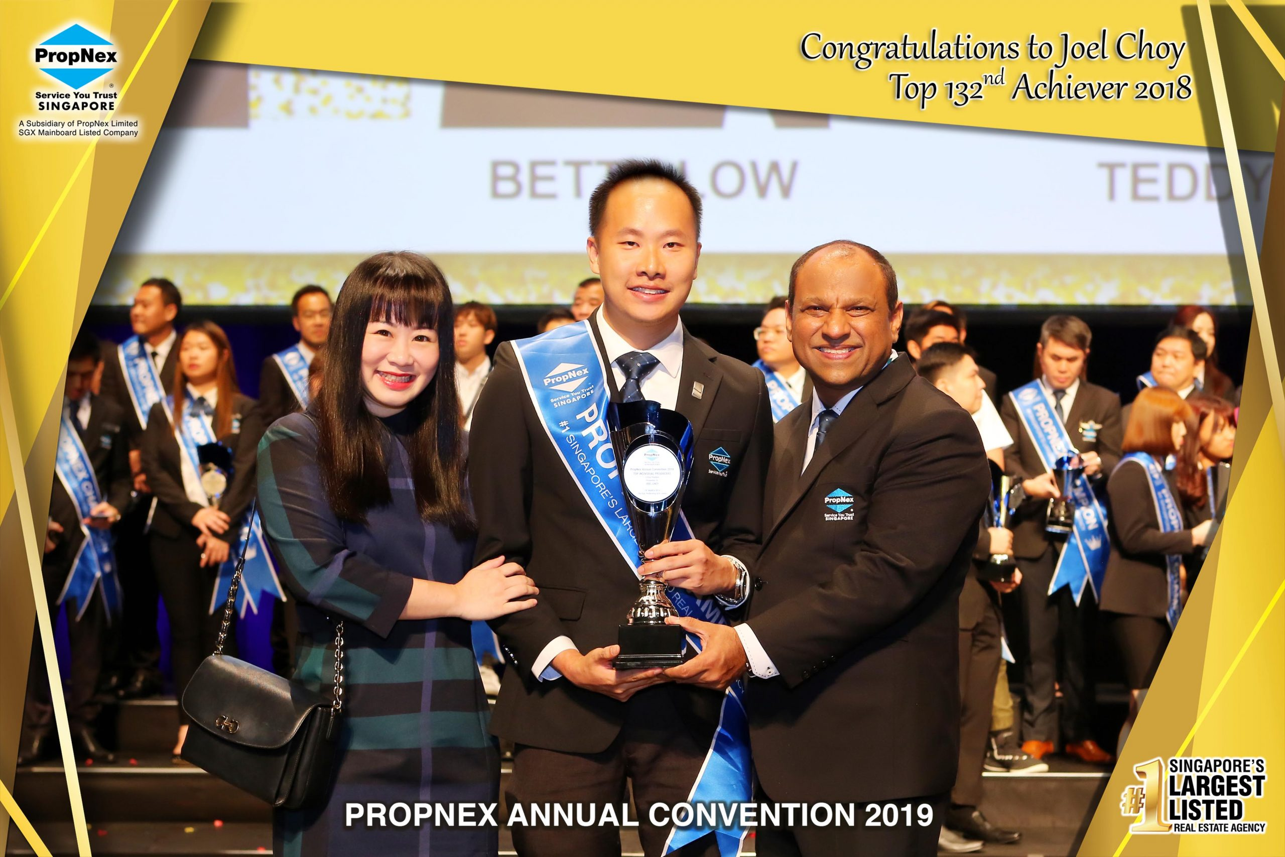 Propnex Annual Convention 2019- 132nd position